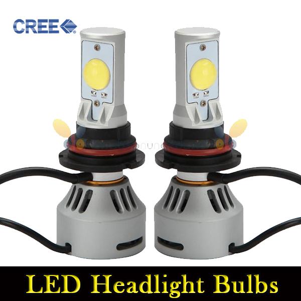 2pcs 36W 9007 Cree LED MT-G2 Headlights Bulbs Auto 3200LM Replacement Halogen HID Bulb Super Power LED Fog Lights Lamp 12V 24V(China (Mainland))