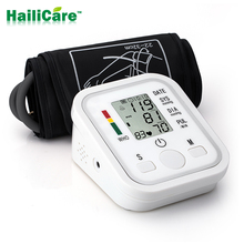 Health Care!New Arrival Arm Style Full Automatic Electronic Blood Pressure Monitor Sphygmomanometer  Blood Pressure Monitor(China (Mainland))