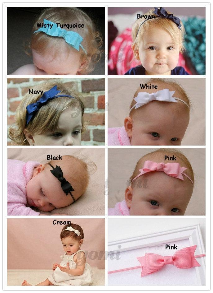 Bebe arco cinta para la cabeza pelo arco de las vendas infantiles accesorios para el pelo
