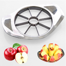 Stainless Steel Vegetable Fruit Apple Pear Cutter Slicer Processing Kitchen Utensil Tool 1PCS New Arrival(China (Mainland))