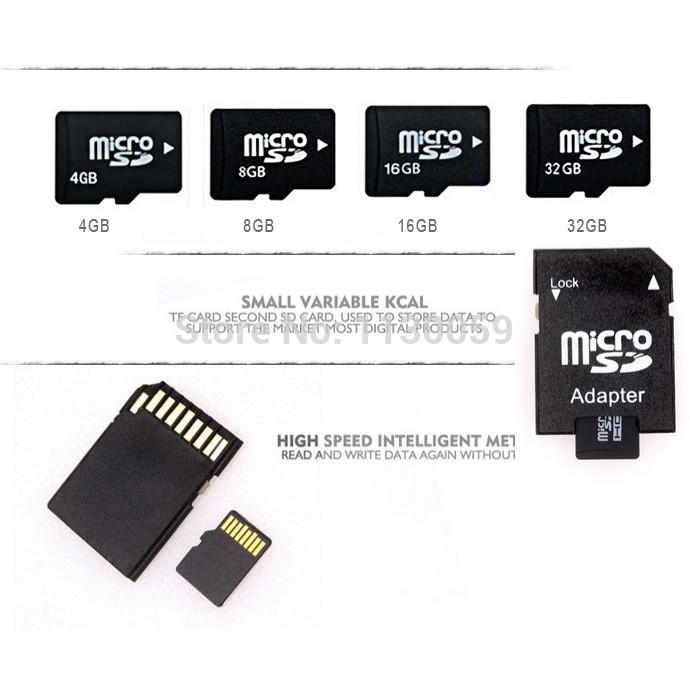 Hot sale Memory Cards Micro SD Card 2GB 4GB 8GB 16GB 32GB class 10 Microsd TF card Pen drive Flash + Adapter + Reader T2(China (Mainland))