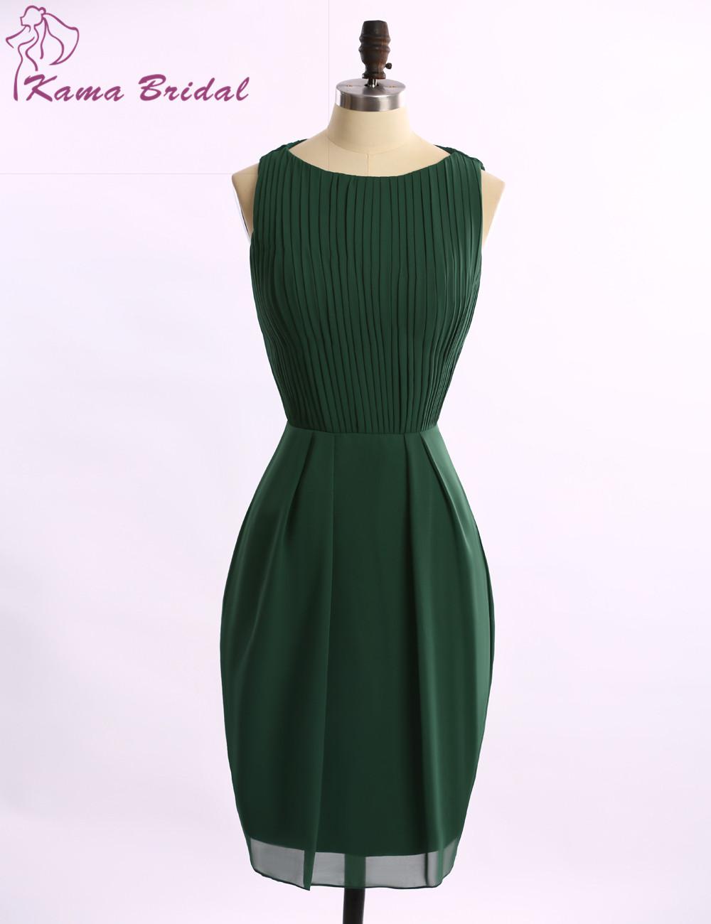 Kama Bridal Fall 2015 Designer Chiffon Dresses Emerald