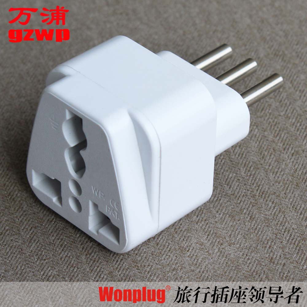 Supply the WP Italy and Chile conversion plug Socket adapter Go abroad for travel converter Brazil(China (Mainland))
