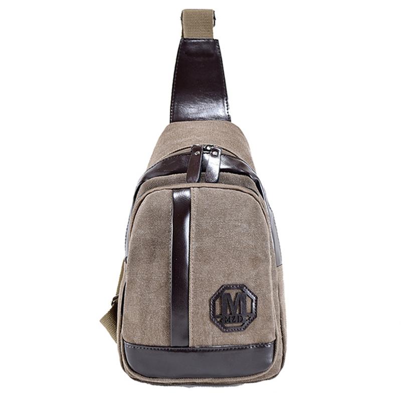 Man Military Messenger Bag Sport Casual Outdoor Travel Hiking Sport Chest Bag Canva Small Crossbody Back Pack Men's Shoulder Bag(China (Mainland))