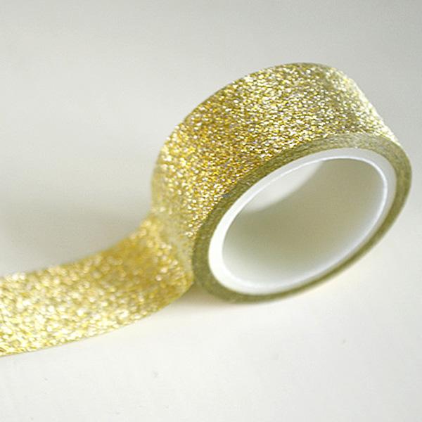 Золотая лента для декора