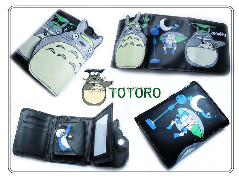 1pcs Totoro coin purse wallet carteras men women anime kawaii wallet passport holder Kids My Friend Totoro wallet bag carteira(China (Mainland))