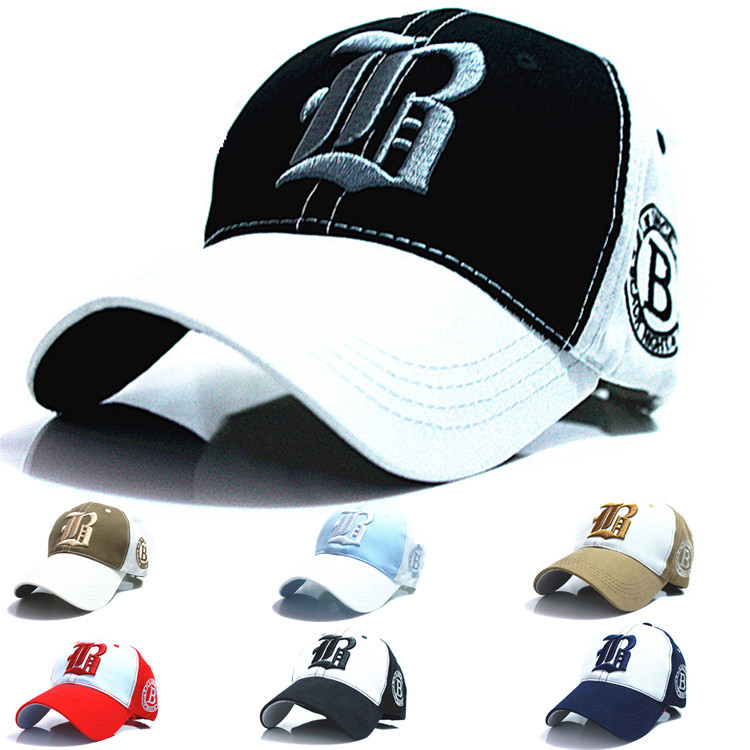 2015 new spring embroidery baseball cap Outdoor sports leisure cap snapback hat cap men and women hats wholesale(China (Mainland))