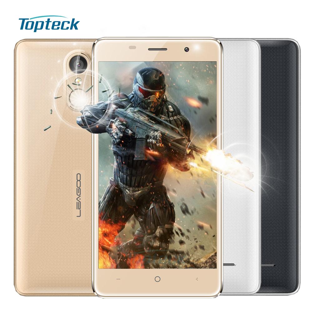 "Original LEAGOO M5 5.0"" HD Smartphone Android 6.0 2GB+16GB Cellphone MTK6580A Quad Core 8MP Fingerprint Shockproof Mobile Phone(China (Mainland))"