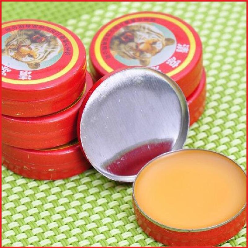 Essential Oil 4 pcs Tiger Balm Muscle Massager Relax Update Essential Oil Self flu Treatment Cool Head Pain Dizziness(China (Mainland))