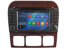 Android 4.4  Car DVD player Radio Stereo GPS  for Mercedes Benz S W220 S280  S420 S430 S320 S350 S400 S500 S600 CL-W215 /3G WIFI