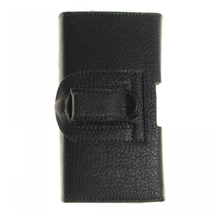 New Smooth Pattern/Lichee Pattern PU Leather Phone Belt Clip for Leagoo Shark 1 Cell Phone Accessories Pouch Bag Cases