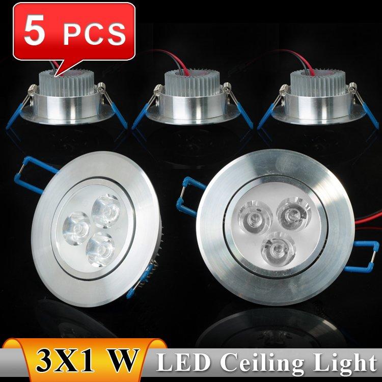 3W AC85~265V white/warm white LED Ceiling Light Downlights Bulb Lights - Professional Manufacturer store
