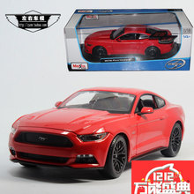 Meritor figure maisto 1:18 model ford mustang GT 2015 alloy car