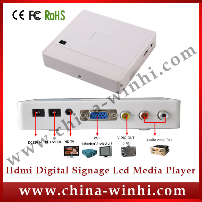 Manufacturer +Hot Products +Speedy Delivery lcd monitor usb lcd media player with vga port(China (Mainland))