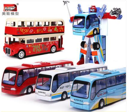 hot sale Alloy London bus model bus children toy gift sightseeing car toys for children Christmas gift Toy car free delivery(China (Mainland))