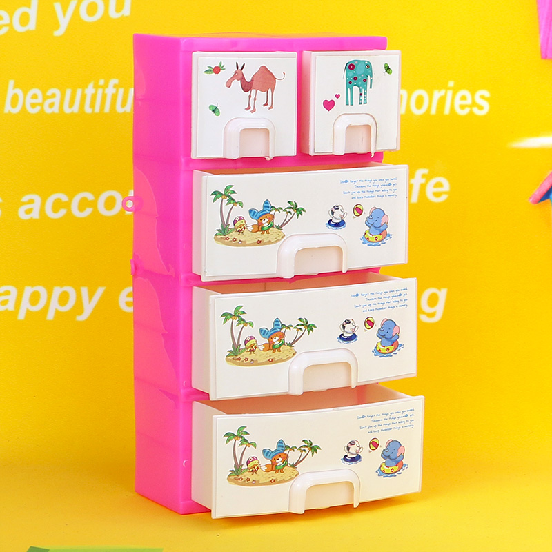 2017 New Fashion Drawer clothes Storage cabinet Furniture For barbie doll New Doll accessories(China (Mainland))