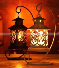 shanghaimagicbox Iron Moroccan Candlestick Candleholder Candle Stand Tea Light Wedding Home Decor  40315301(China (Mainland))