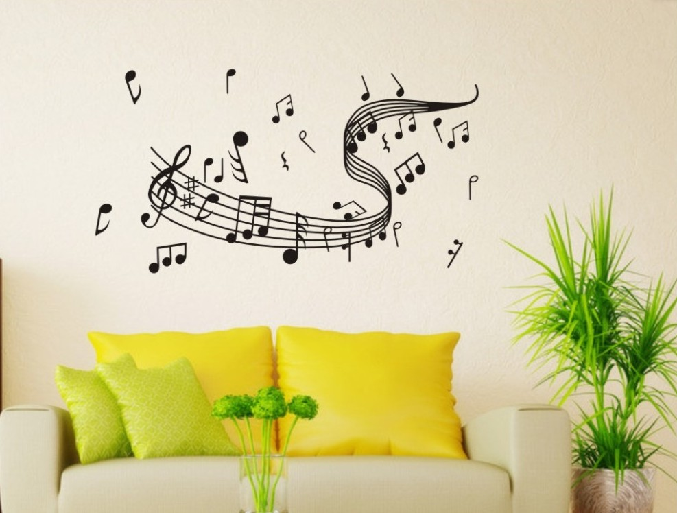 Outstanding Musical Notes Wall Decor Elaboration - All About Wallart ...