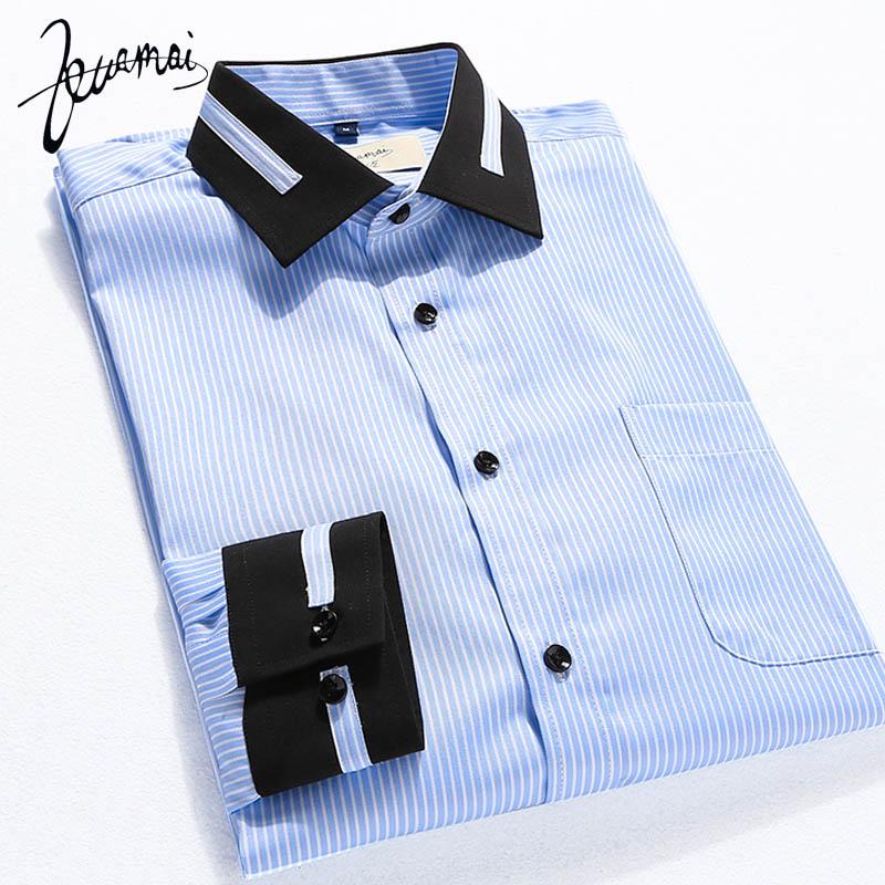 EUROPE Size New Men Shirt Fashion Brand Camisa Masculina Quality Cotton Slim Long Sleeve Mens Dress Shirts Vetement Homme(China (Mainland))