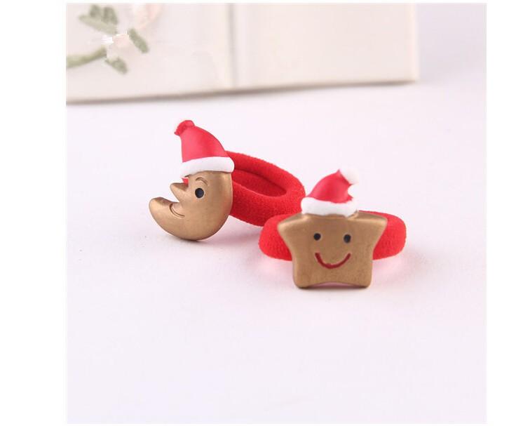 Multi-стиль рождественский подарок эластичный веревки волосы дети связи волос очаровательны хвост держатель головные уборы аксессуары для волос бесплатная доставка