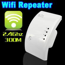 2016 New Hot Sale 300 Mbps Wifi Repeater Wireless-N AP wlan 802.11N Range Extender Sinal Amplificador Impulsionador branco REINO UNIDO/EUA/UE/UA(China (Mainland))