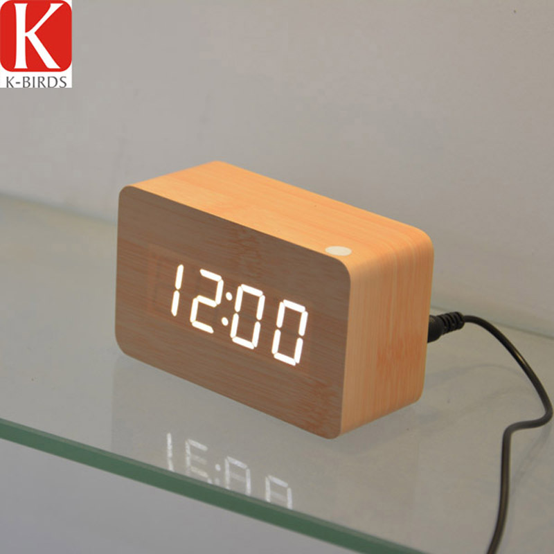 Будильник Wooden alarm clock