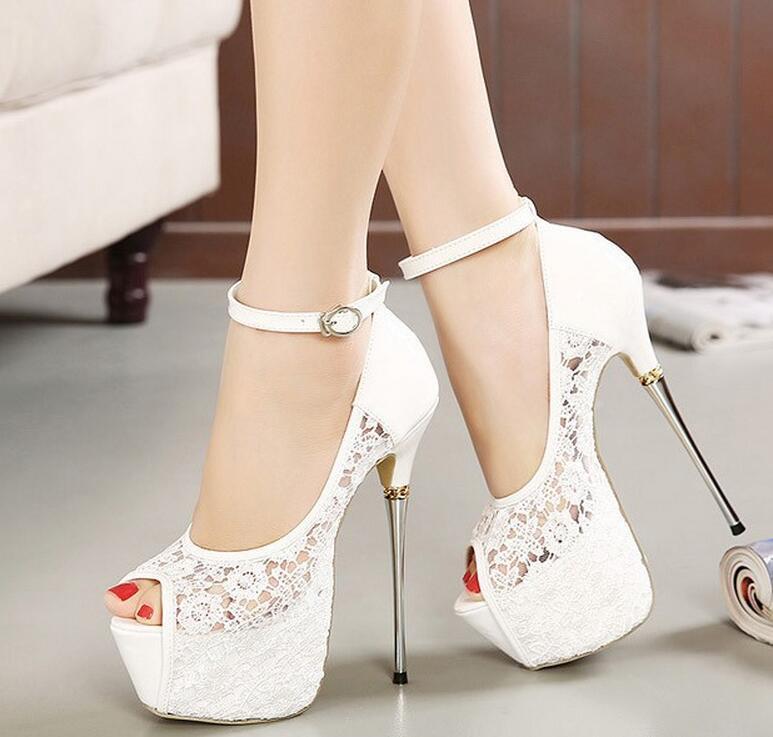 2016 new women s pumps lace pumps shoes