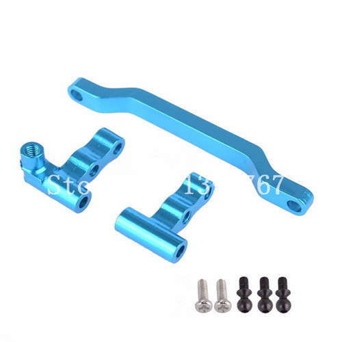 WLtoys A949 A959 A969 A979 Upgrade Parts Aluminum Steering Linkage A949-08 For RC HSP 1/18 RC Car 580003<br>