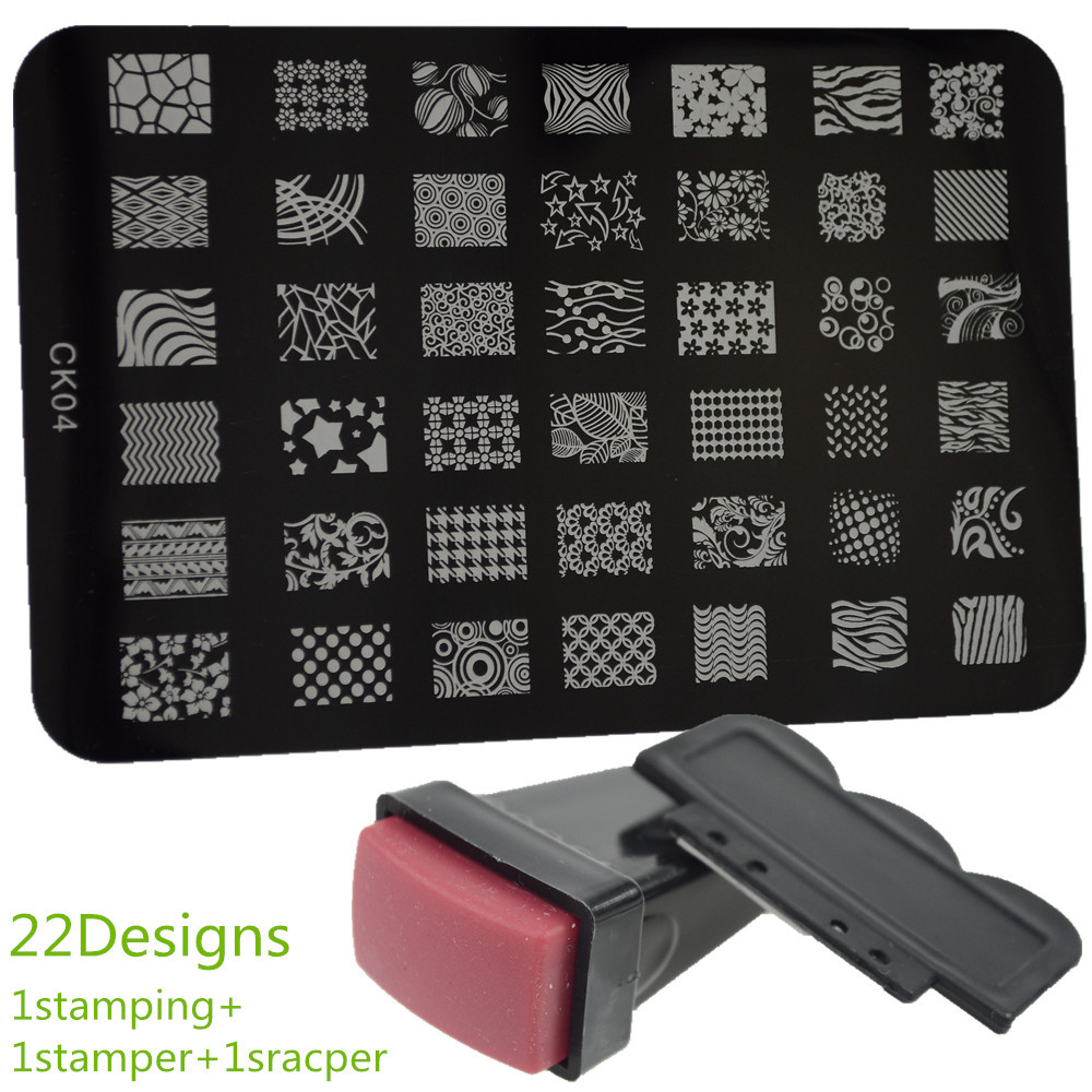 Buy Wholesale nail art stamping kit from China nail art stamping kit ...