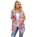 Shirts Women Blouse Top fashion Casual Blusas Femininos Summer Style Stripe Kimono Cardigan body plus size
