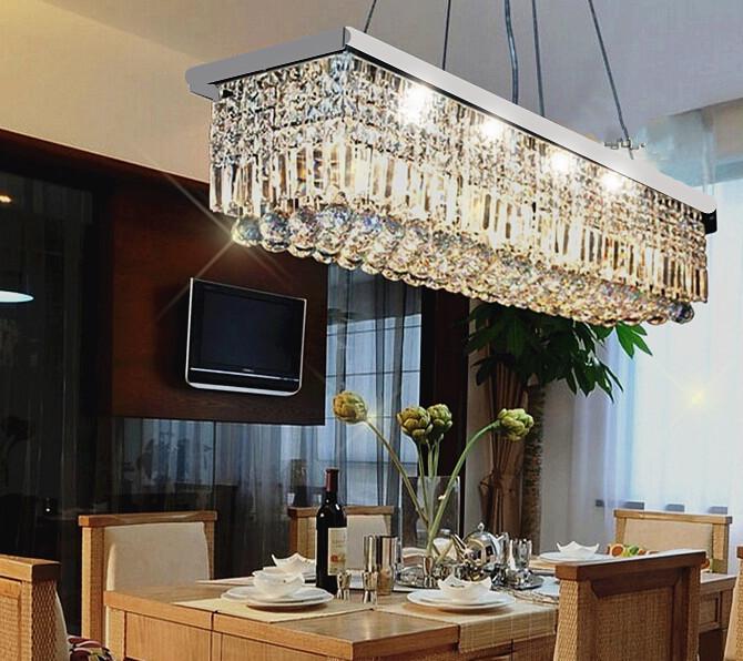 Modern Crystal Chandelier Dining Room Best Dining Room 2017