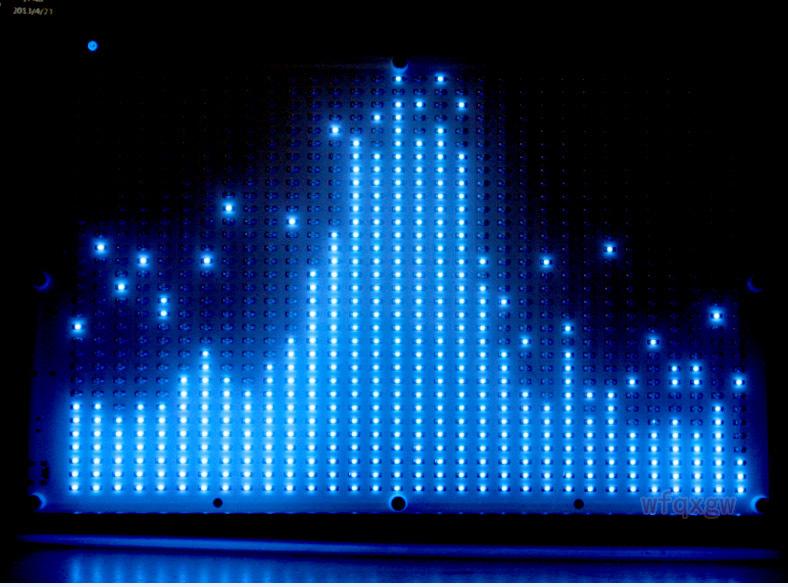 светодиодов аудио цифровой