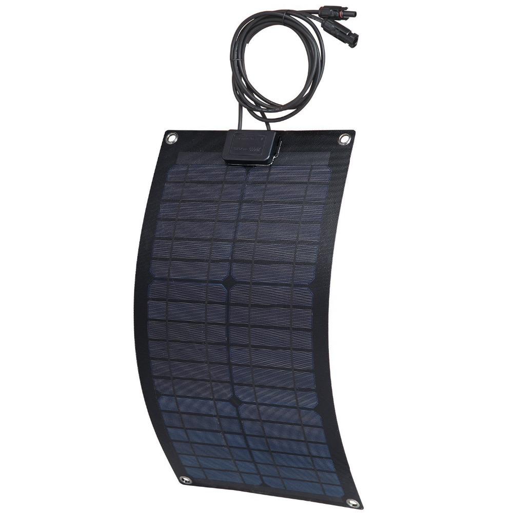 MXSOLAR Semi-flexible Solar Panel Fiber Material 20 Watt with oxide Fiberglass + ETFE(China (Mainland))