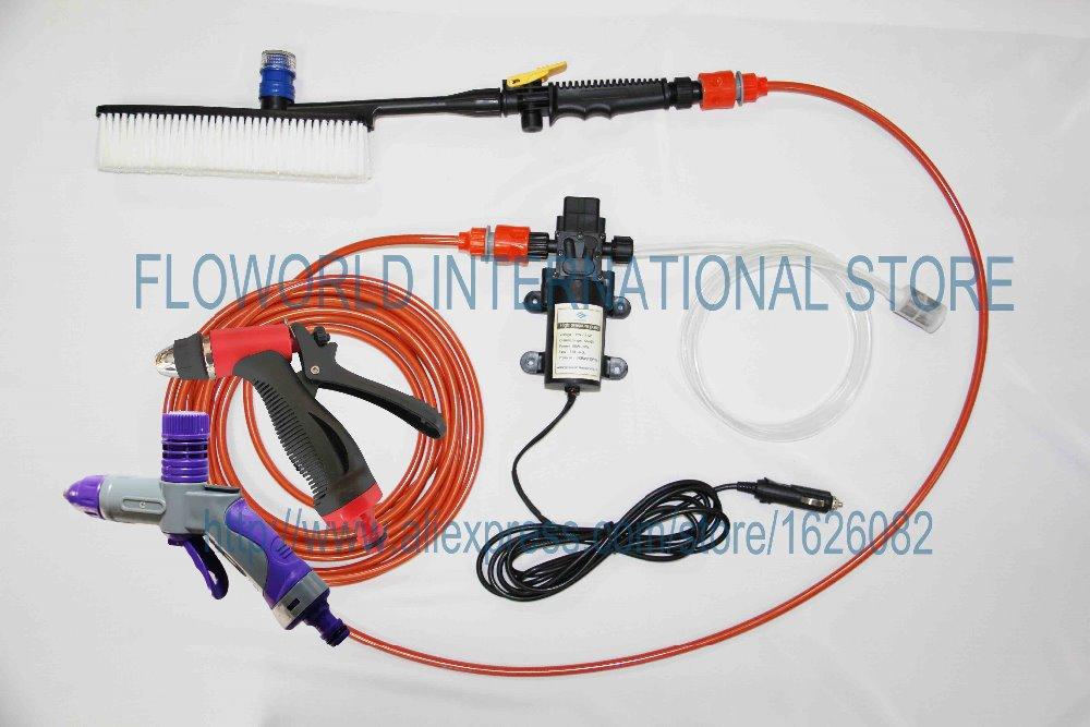 Soft Brush & Foam Gun High Pressure Washer 12V Or 220V Washing High Pressure Pressure washer(China (Mainland))