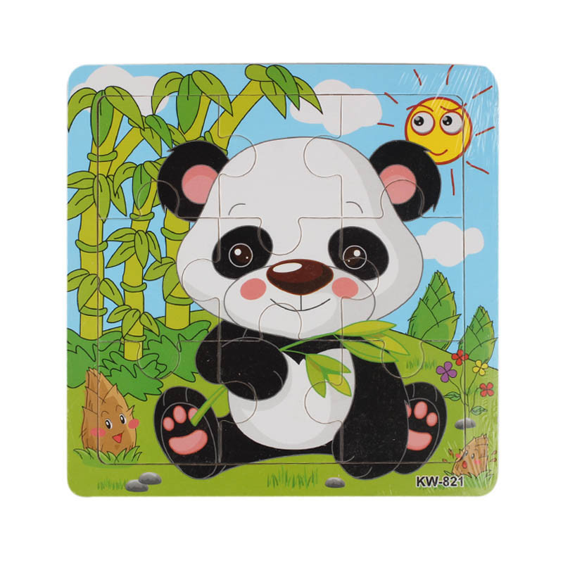 Sanwony New 12 Styles Wooden Kids Jigsaw Puzzles Toys With Animals Pattern For Children Education And Learning(China (Mainland))