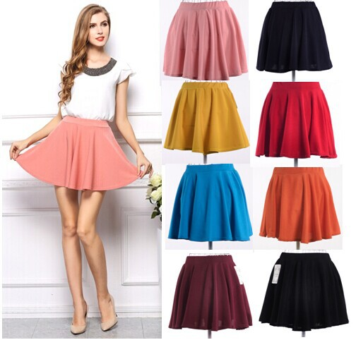 New Ball Gown Skirts 8 Color Easy to Match Fashion Design Nice Women Skirts(China (Mainland))