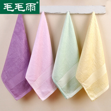 New 2017 Bamboo Hand/Face Towel--4pc 100% bamboo towels for adult towels bathroom toalha de absorbent face washer 070024(China (Mainland))