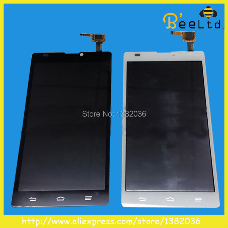 Free Shipping 100% NEW Original LCD Display Touch Screen Digitizer assembly replacement For ZTE blade L2 white or black(China (Mainland))