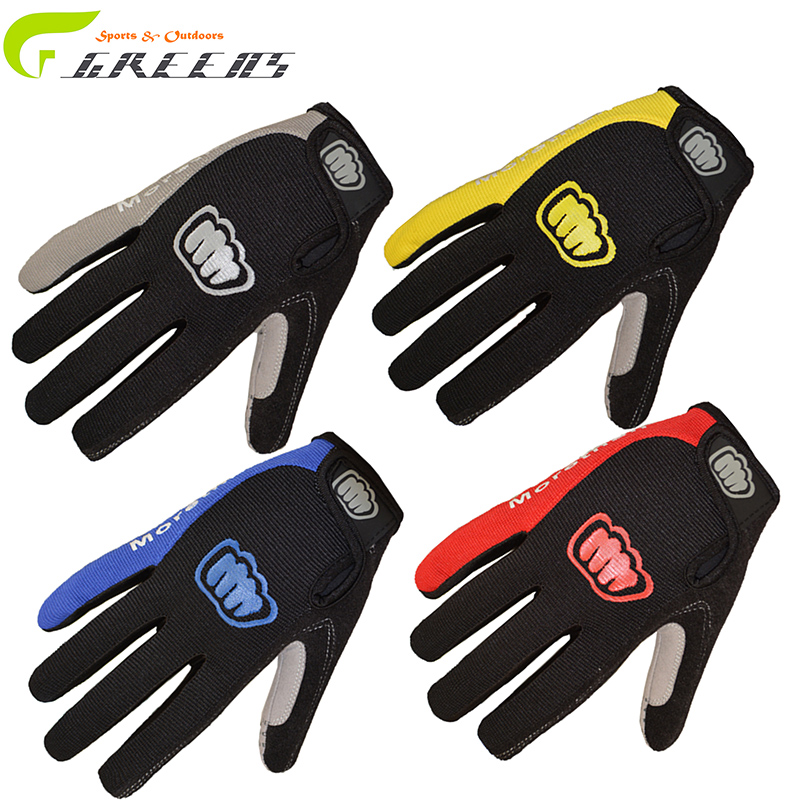 Cycling Gloves Men Sports Half Finger Anti Slip Bike Gloves With GEL Breathable Pads 4 Colors Bicycle Gloves/ guanti ciclismo(China (Mainland))