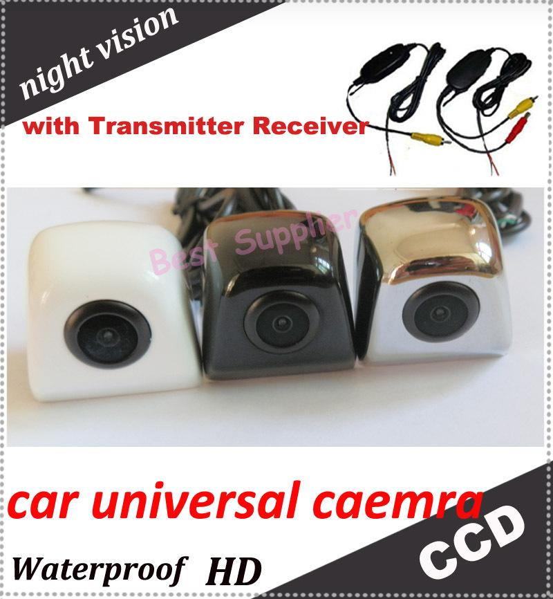 car backup camera Wireless hot sell Car rear camera For all car universal HD CCD night vision(China (Mainland))
