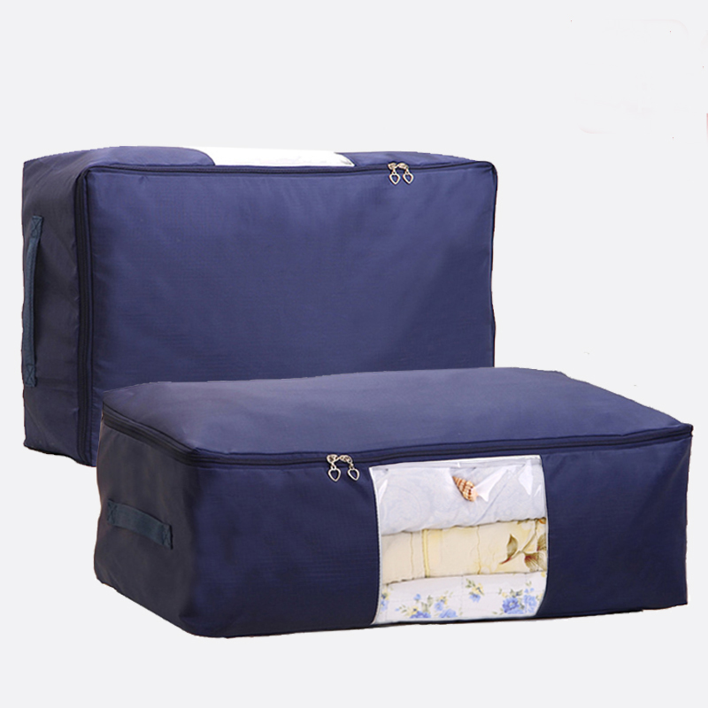 Folding Quilt Storage Bag Quilt Case Quilt Box Clothing Organizer Laundry Box Wardrobe Bags(China (Mainland))