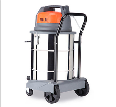 Black & Orange JN202-50L vacuum cleaner power strong suction machine barrel type Both for dry wet use car-washing and hotel use(China (Mainland))