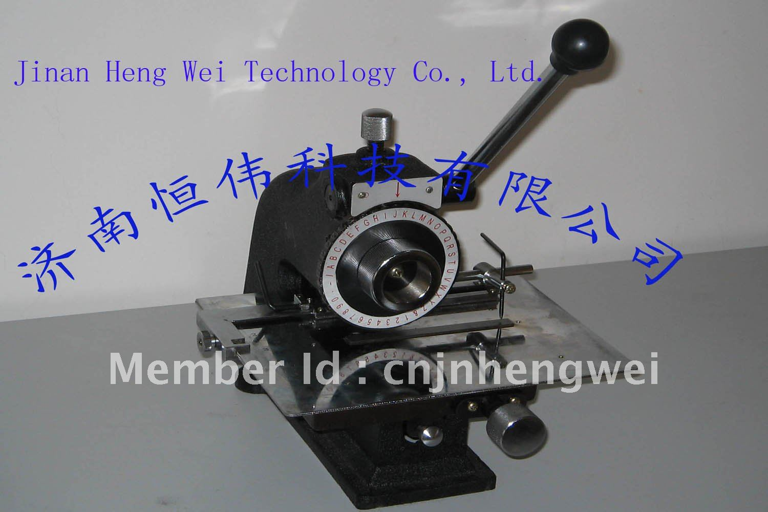 Semi-Automatic Nameplate Press Marking Machine - Jinan Hengwei Technology Co., Ltd. store
