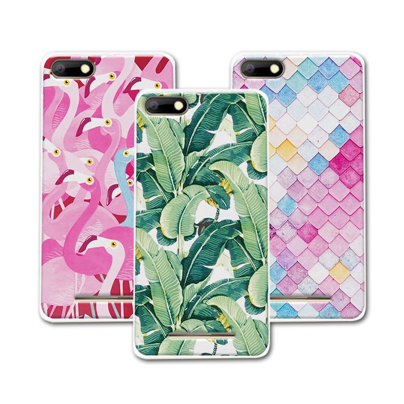 "Mermaid Flamingo Painted Soft Silicone Phone Cases BQ Strike BQS5020 Case Cover Funda BQ Strike BQS 5020 5.2""+Free Gift"