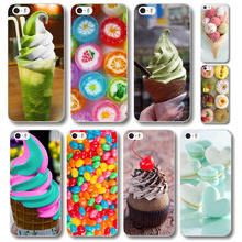 phone case for iphone 4 4s free shipping colorful dessert ice cream Macarons styles hard cover high quality WHD1475
