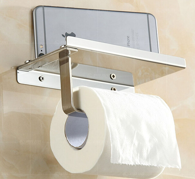 Creative Style Wall Mounted Toilet Paper Holder Brass And: creative toilet paper holder