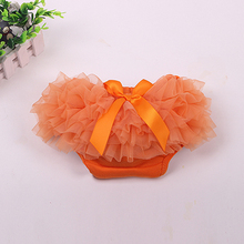 Baby Cotton Bloomers Diaper Cover Newborn Cute Tutu Ruffled Panties 7 Colors Baby Girls Lace Crumple 2015 Hot Retail Baby Shorts(China (Mainland))
