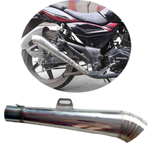 GY6 Modified Motorcycle Exhaust Pipe Stainless Steel Fried Tube gp Exhaust Muffler