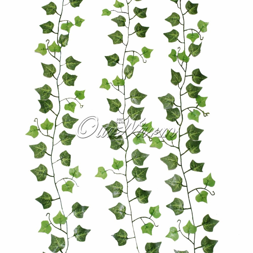 Popular fake vines buy cheap fake vines lots from china for Decoration leaves