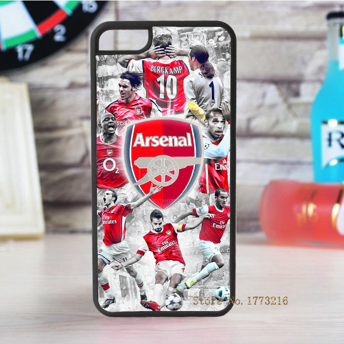 Arsenal FC Soccer Football fashion cover case for iphone 4 4s 5 5s 5c for 6 & 6 plus(China (Mainland))